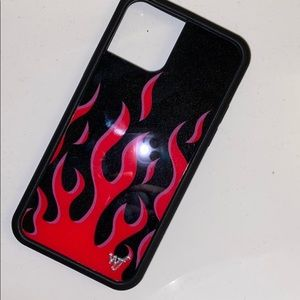 IPHONE 11 PRO WILDFLOWER FLAMES CASE